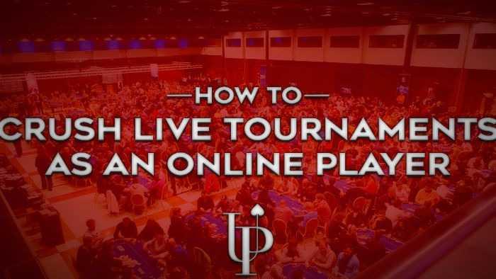 Live Poker Tournament Strategy