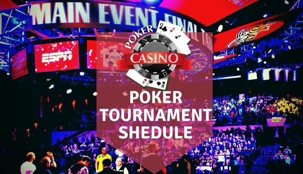 888 Poker Tournament Schedule